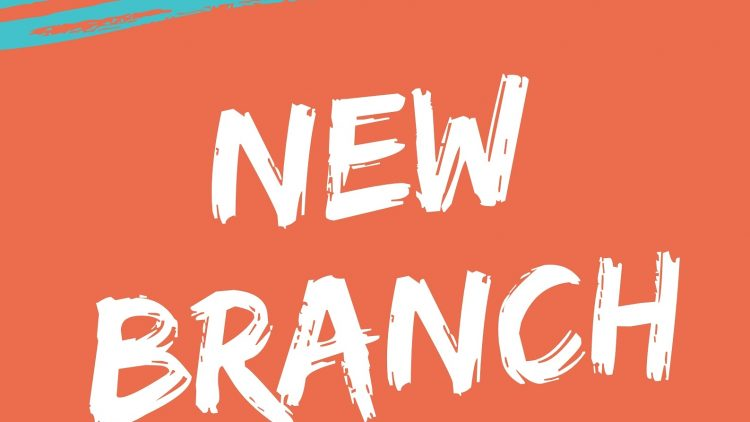 WE ARE UNVEILING A NEW BRANCH! WATCH OUT HERE.